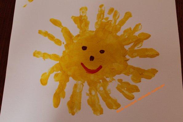 Peinture corporelle - Image soleil rigolo ...